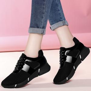2017新款韩版加绒百搭运动跑步棉鞋