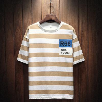 挂拍日系短袖t恤夏季新款打底衫韩体恤潮流半袖男装T051-P35
