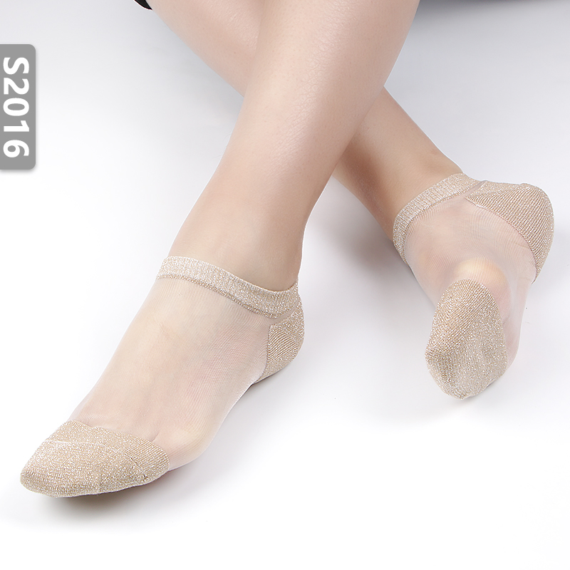 袜子女日系透明可爱玻璃袜夏季新品超薄低帮浅口船袜水晶丝袜防滑11-28新券