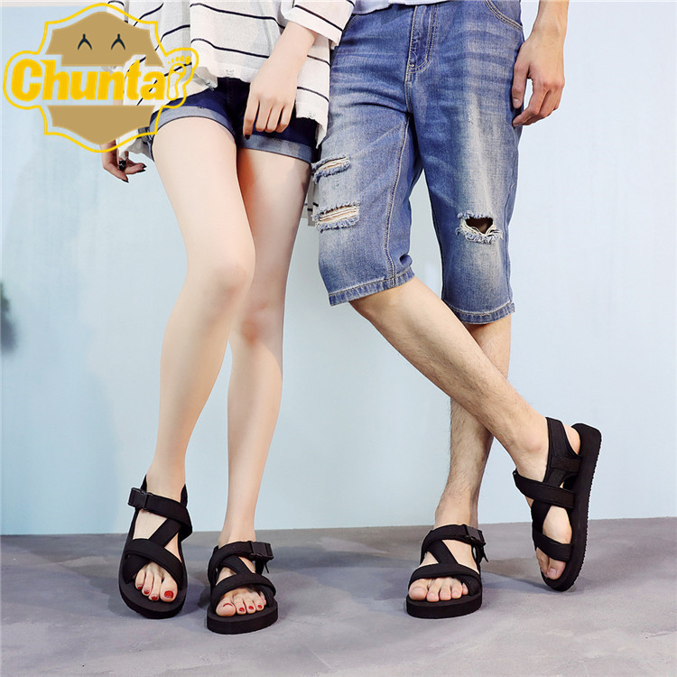 New Vietnamese foreign trade sandals mens large outdoor open toe beach shoes breathable slippers fashion in summer 2018