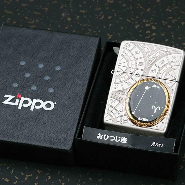 日本正品zippo打火�Czippo正版 十二星座�D案煤油防�L��偈詹匕�