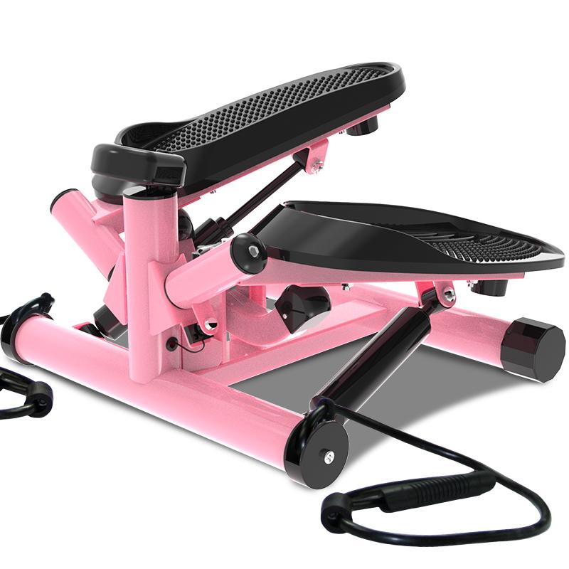 自营雷克多功能踏步机扭腰健身脚踏机家用带拉绳健步机登山机包邮
