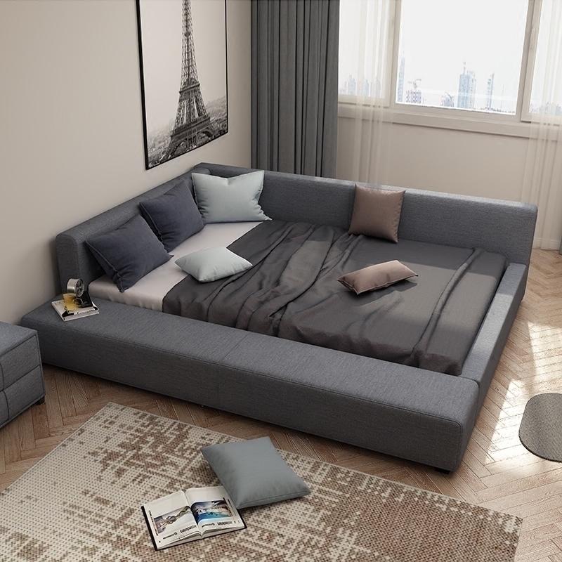 畳のベッドの科学技術布は簡単に現代の二胎の親子1.8が取り壊して洗濯できます。