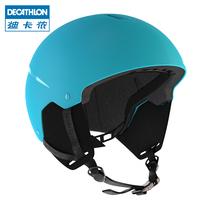 迪卡侬滑雪头盔儿童抗冲轻盈保暖透气单双板户外滑雪装备WEDZE1