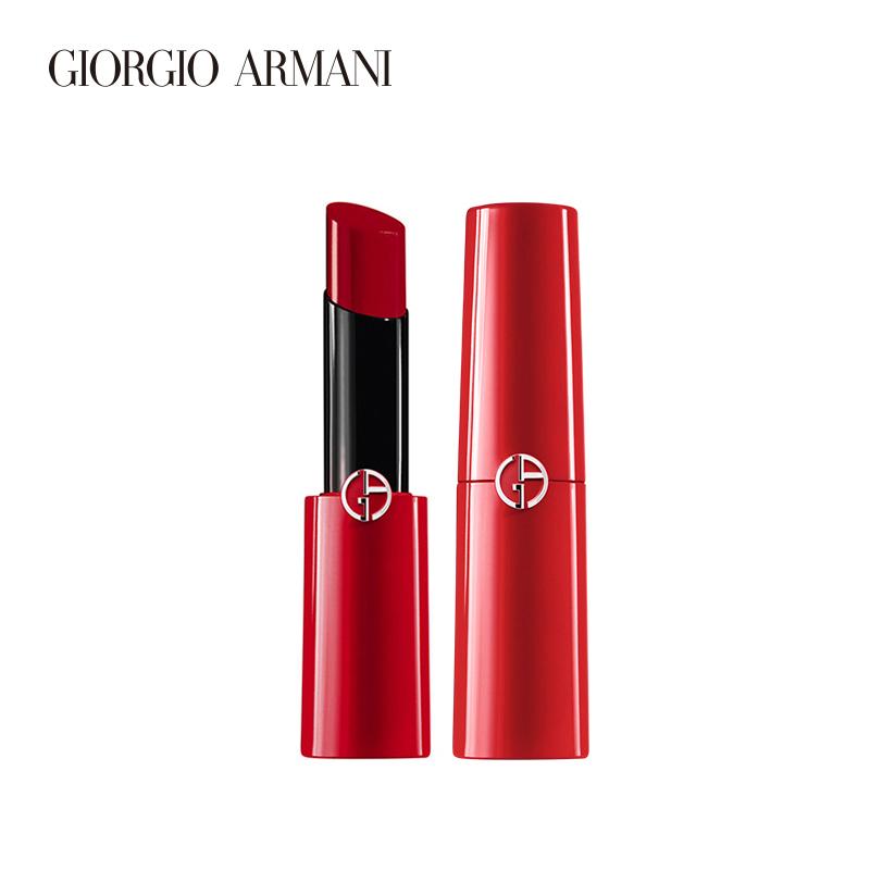 400阿玛尼口红官方正品莹润迷情唇膏小细管枫叶红奶茶色正品