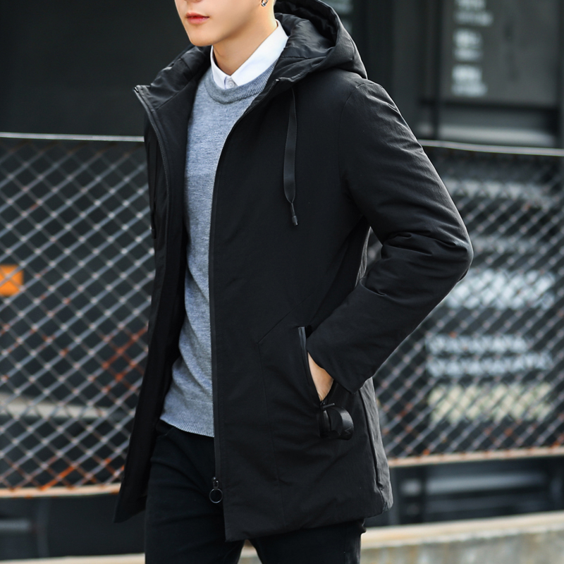 外套男冬季2017新款韩版个性潮流修身帅气棉服夹克上衣服男装棉衣