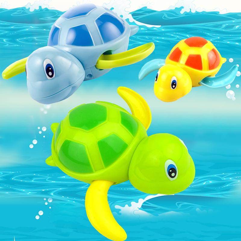 抖音热门玩具划水龟儿童洗澡宝宝戏水发条玩具同款游泳上链小乌龟