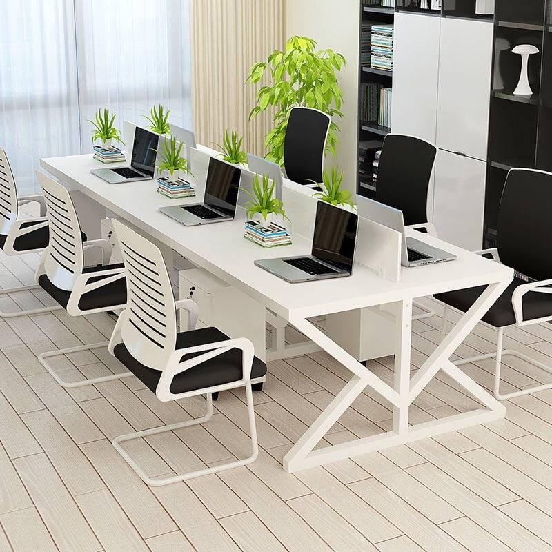 办公桌台脚桌办公职员欧式玄关隔断办公桌家具商业屏风卡座办公桌