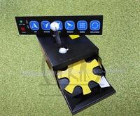 Golf Сервировочная машина 6 ключей полностью автоматическая Машина для возврата мяча автоматическая Шариковая машина GOLF ball machine
