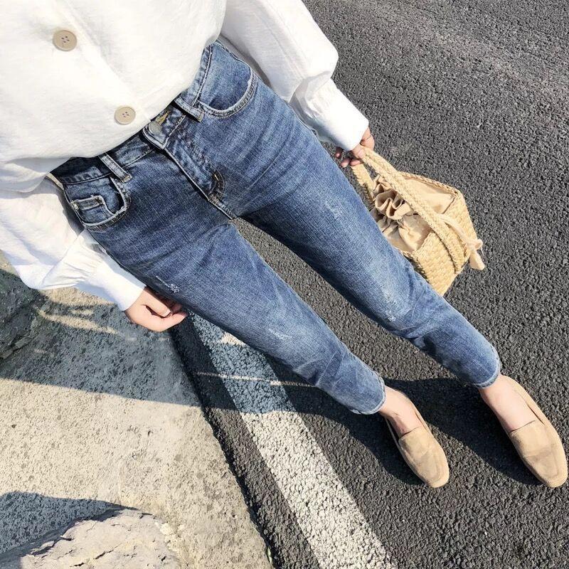2020秋新款高腰网红女韩版牛仔裤质量如何
