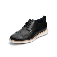 Cole Haan new first layer cow leather light and comfortable business leisure British men's Oxford Shoes c26307