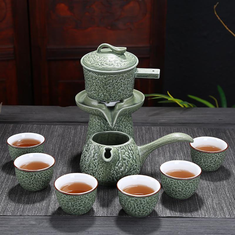 茶具套�b家用杯子6只�b陶瓷中式客�d喝茶�凸��意整套�r�磉\�D
