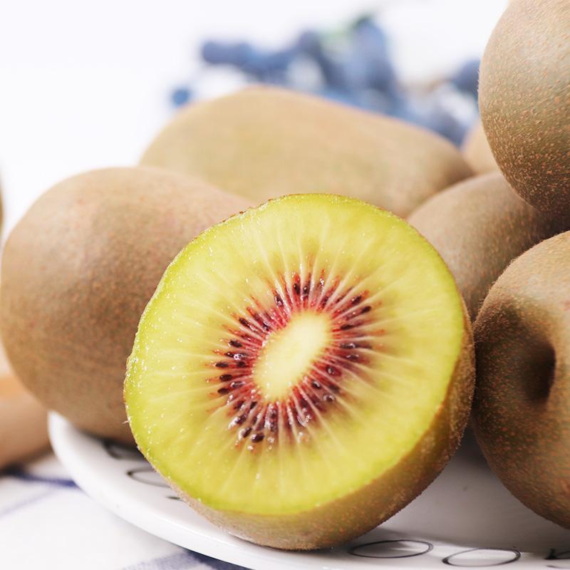 新鲜水果红心猕猴桃奇异果当季超甜中大果整箱包邮15个现摘