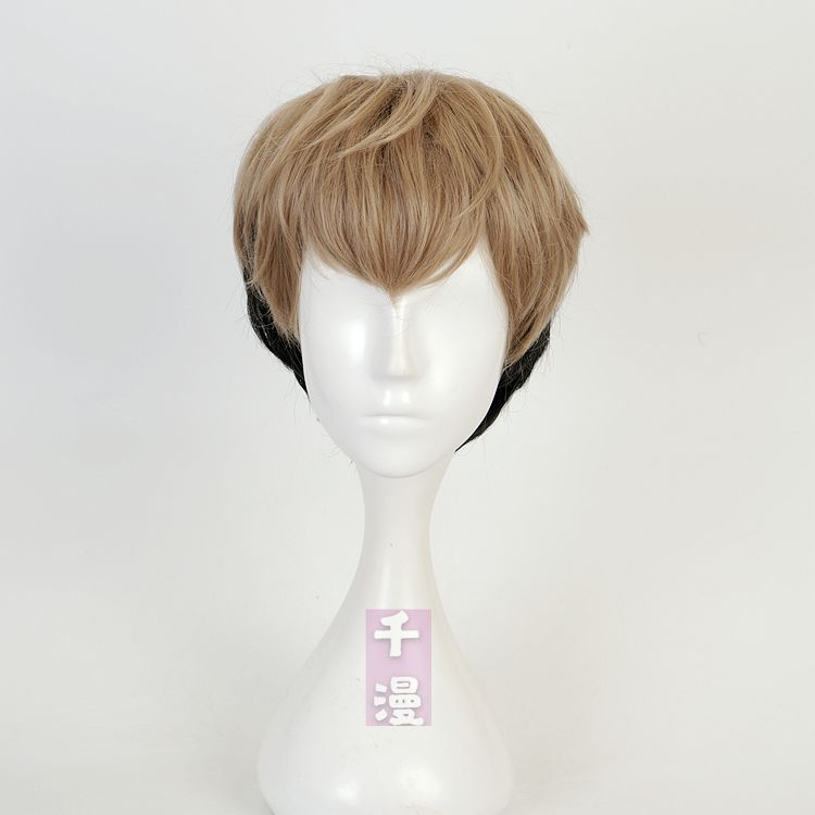 [Qianman] killing and tracking Wu Shangyu Cosplay wig layering gradual false hair role play