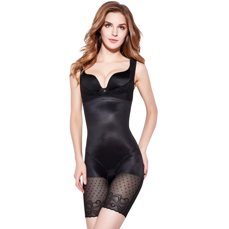 美人G计连体塑身内衣服正品收腹束腰美体无痕燃脂瘦身减肚子超薄