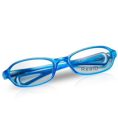 Childrens 3D glasses 3D TV IMAX cinema special childrens round polarized real non flashing stereo optimization