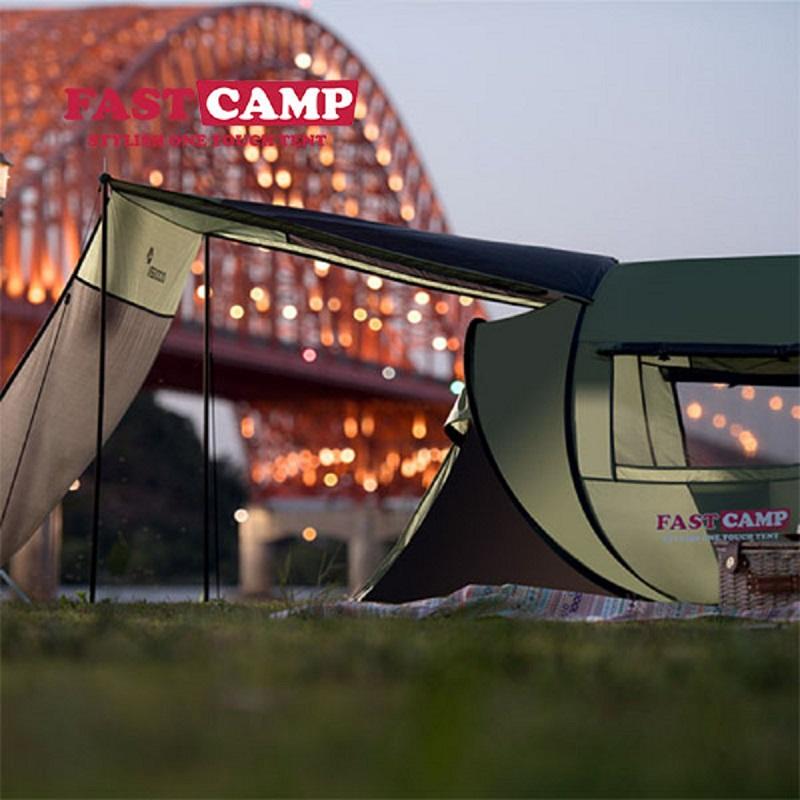 帐篷户外自动多人防风雨露野营免搭建公园天幕大家庭FASTCAMP