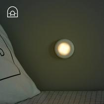 节能灯泡灯灯座led开关带壁挂式小夜灯转换螺丝口插座两脚插口