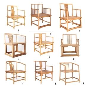 Кресла полукруглые,  Старый вяз новый китайский стиль краски чай стул современный простой алтарь смысл господь стул спинка подлокотник кресло стул слишком модельние стул, цена 2752 руб