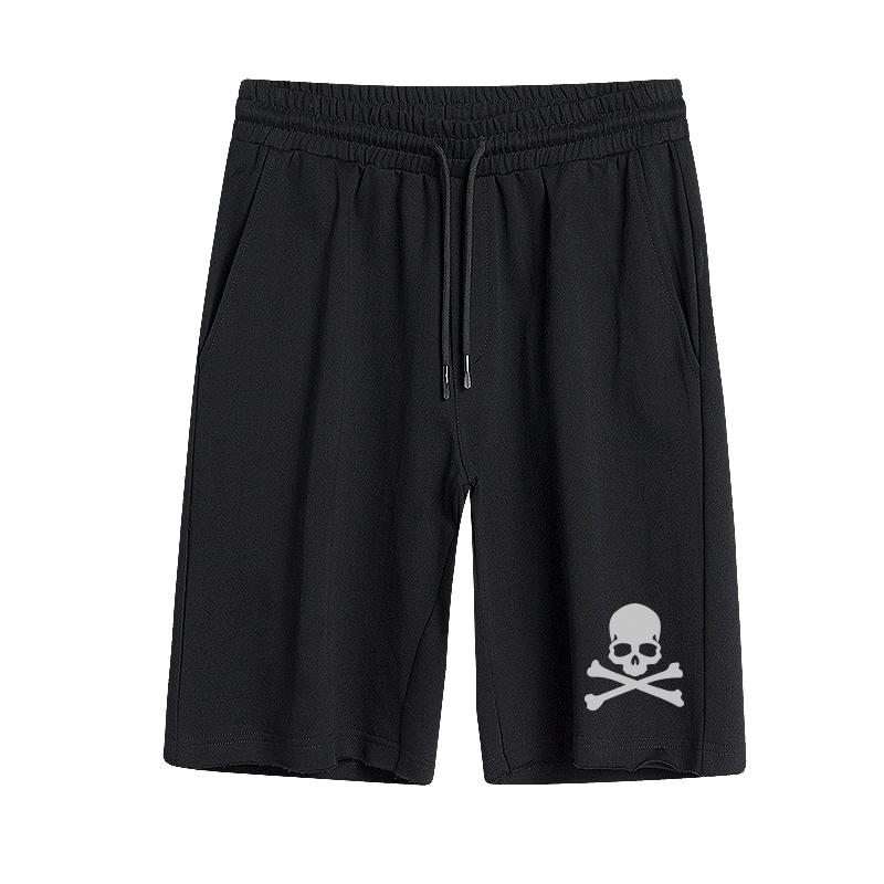 夏季boy五分裤老鹰superme死飞裤子凉爽透气沙滩裤潮牌短裤男bape