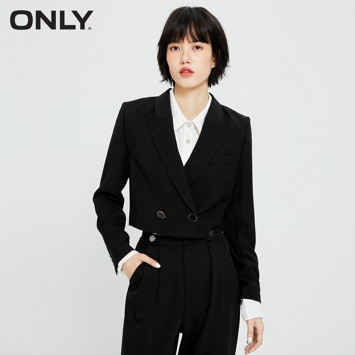 ONLY2021 Summer new short suit jacket job design sexy small suits women 121208004