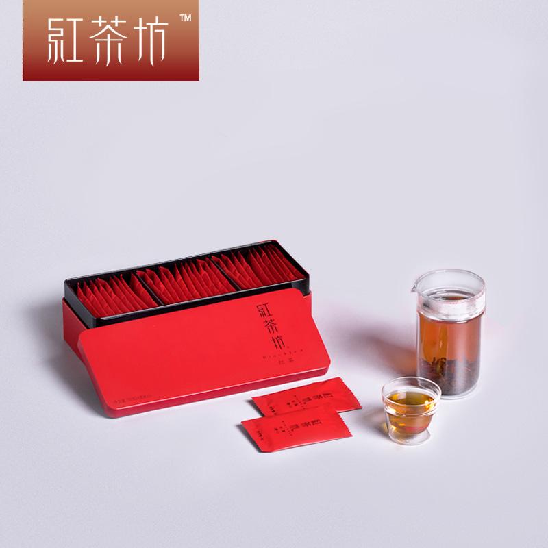 竹叶青茶业出品132g红茶坊茶叶峨眉高山川红工夫红茶特级礼盒装