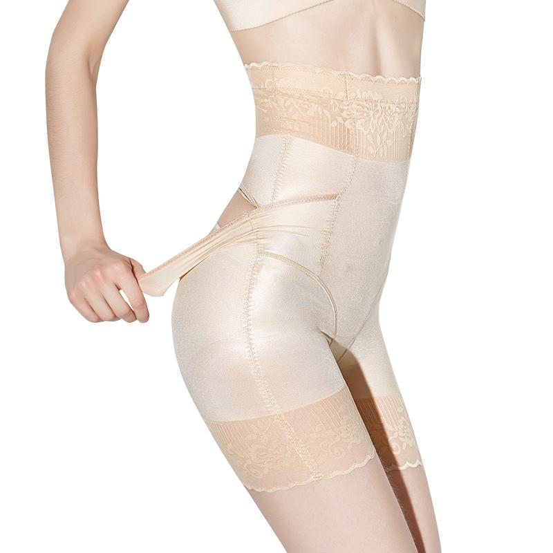 美人谣计高腰收腹提臀塑身内裤女产后塑形肚子腩束腰燃脂美体薄款