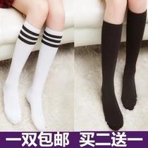 KK短袜中筒袜长筒袜过膝学生袜丝袜膝杠打底袜半截袜子美腿袜