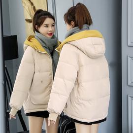 棉服女短款冬季2019年新款韩版ins面包服棉袄宽松加厚棉衣外套图片