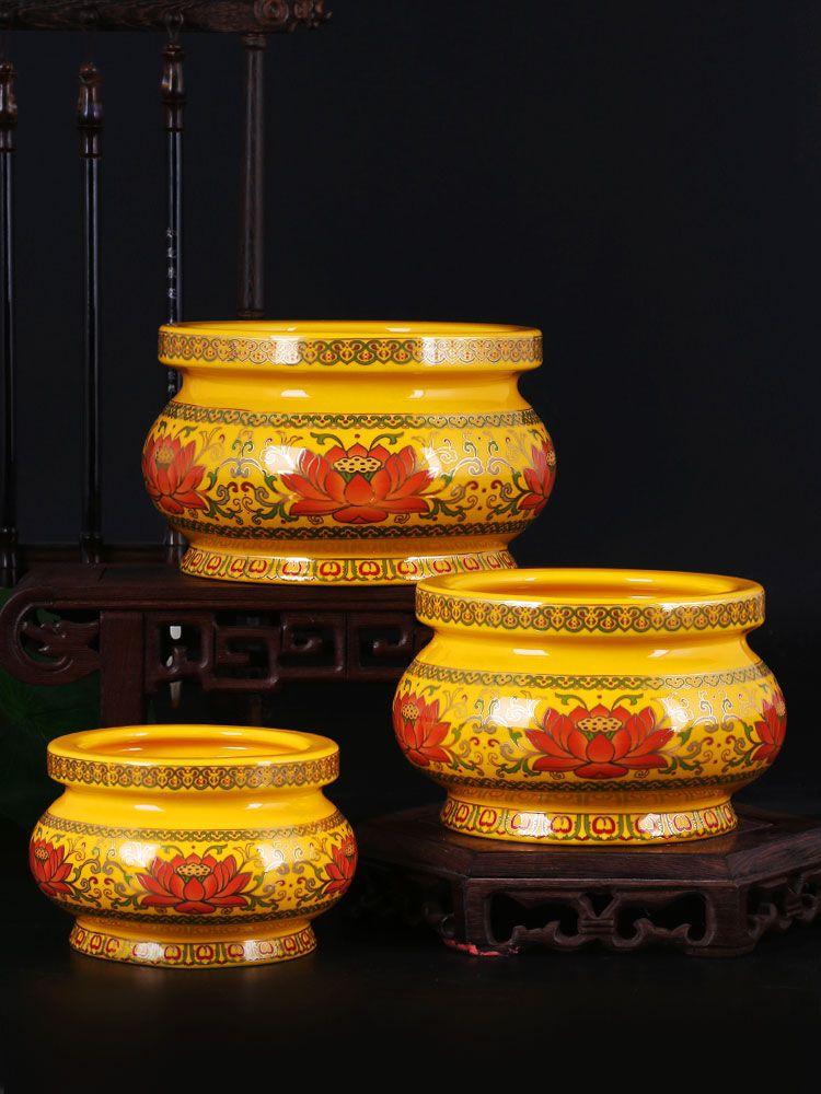 迷你大小户外用品香炉家用室内祭祀佛教双耳客厅观音立式小号个性
