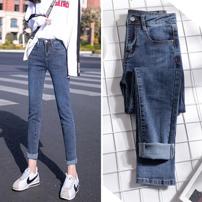春季2021新款韩版高腰显瘦小脚裤子质量怎么样