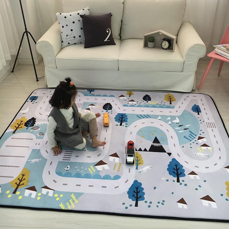 儿童爬行毯