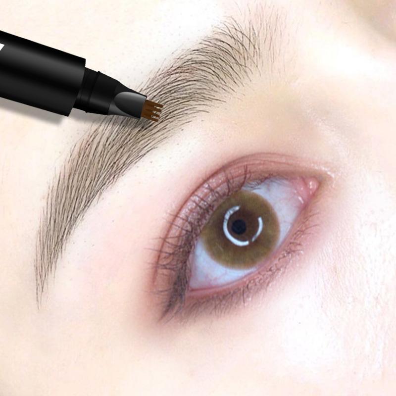 Taozhiyaoyao four fork liquid eyebrow pencil female authentic Li Jiaqi recommends ultra-fine head, non decolorization, durable waterproof