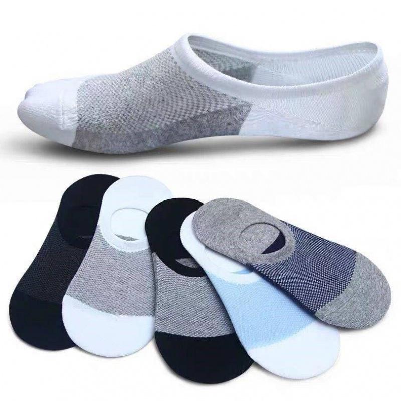 Socks mens mesh boat socks mens invisible socks mesh socks mens deodorant socks summer thin mens socks ventilate and absorb sweat