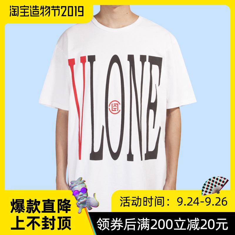 潮流观止 CLOT x VLONE 联名限定中国龙短袖 陈冠希 潮牌T恤