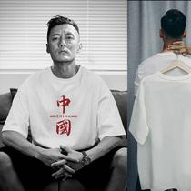 短袖t恤女2021夏装新款韩版宽松大码白色简约时尚上衣服女装ins潮