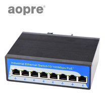 Aopre (Opel) 8 Gigabit industrial-grade switch DIN Rail industrial Ethernet Switch