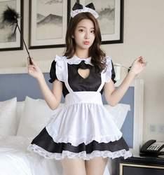 性感嫩芽女佣女仆装cos日常学生可爱萌系日本猫女动漫lolita服装