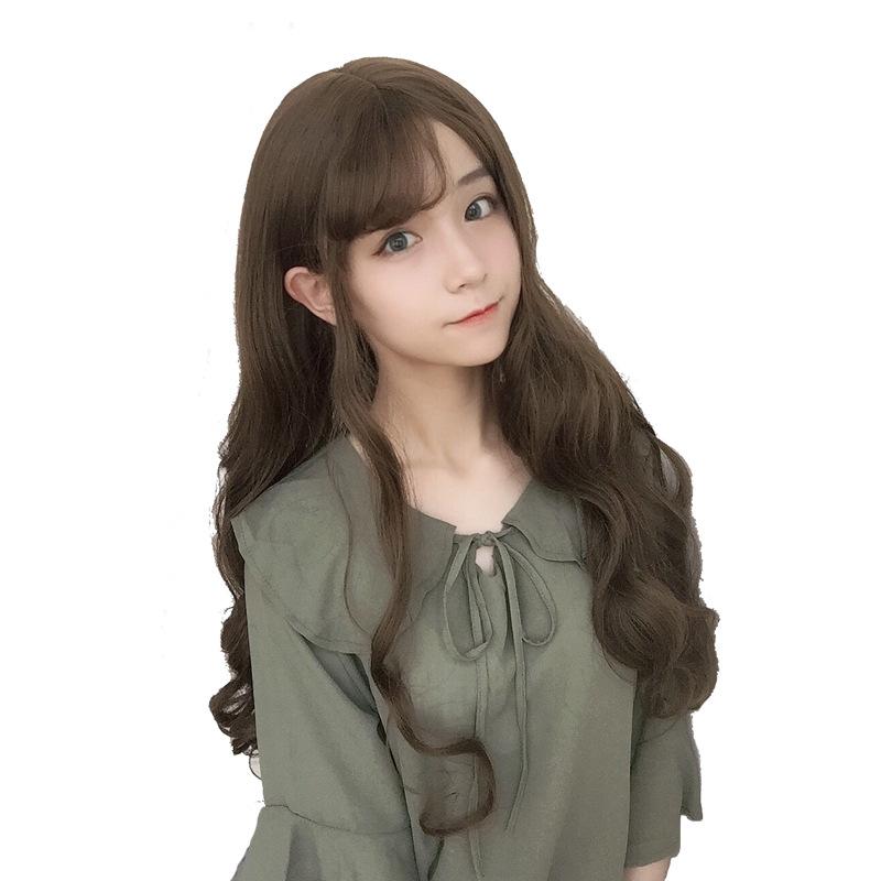 假发 女 长卷发 68CM波浪 洛丽塔 日系时尚自然优等生包邮