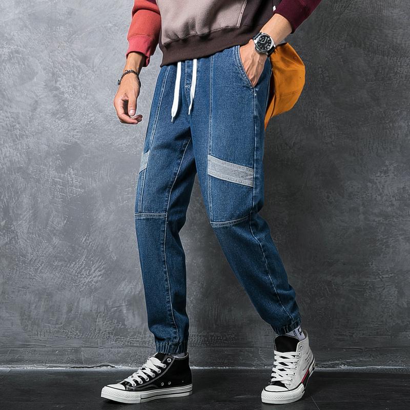 工装裤男束脚九分潮裤是什么品牌