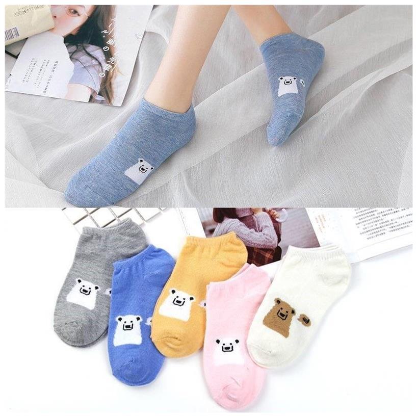 袜子女船袜女生隐形袜四季款韩版棉袜短袜浅口学生袜