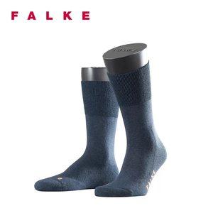 FALKE德国鹰客Run棉时尚运动透气吸汗春秋薄款中筒男女袜子 16605