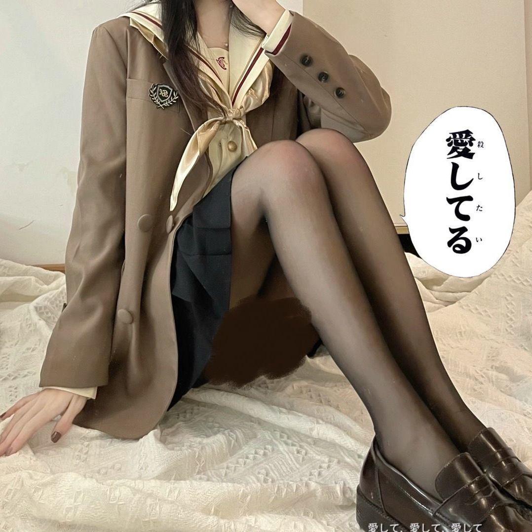 中國代購 中國批發-ibuy99 丝袜 黑丝袜子女网红流行丝袜女薄款防勾丝任意剪打底袜超薄学生春夏季