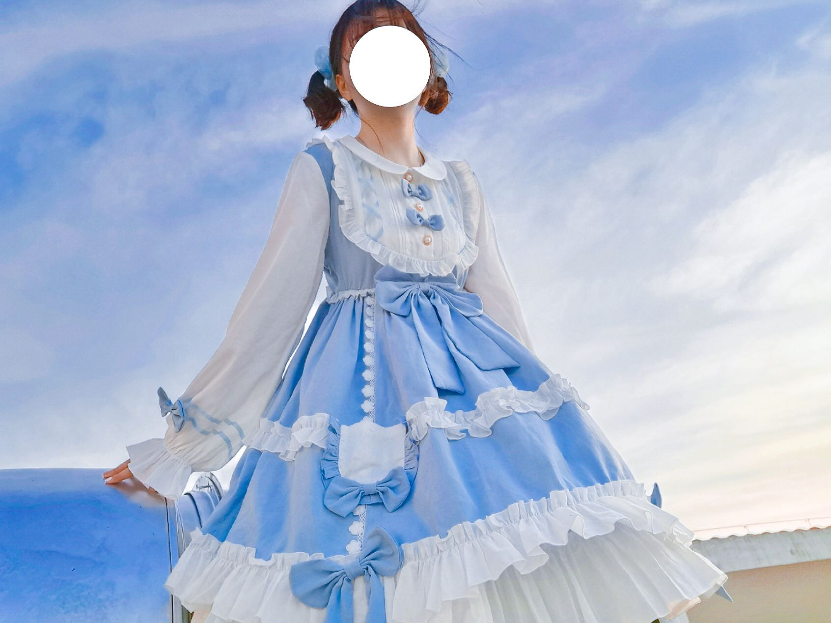 [cherry pomelo girl] with a deposit, without a deposit, Lolita