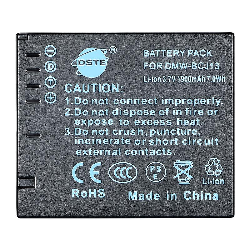 蒂森特(DSTE)  DMW-BCJ13数码相机电池 BP-DC10-E 电池  LX7