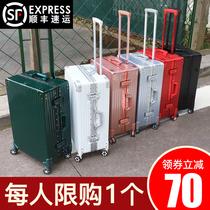 行李箱ins网红拉杆箱20寸女大容量旅行箱男学生24密码登机皮箱子