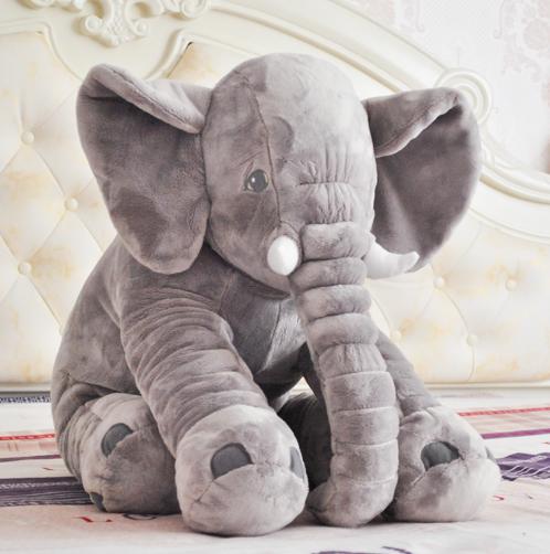 大象公仔毛绒玩具宝宝安抚睡觉抱枕头婴儿陪睡玩偶儿童礼物可爱萌