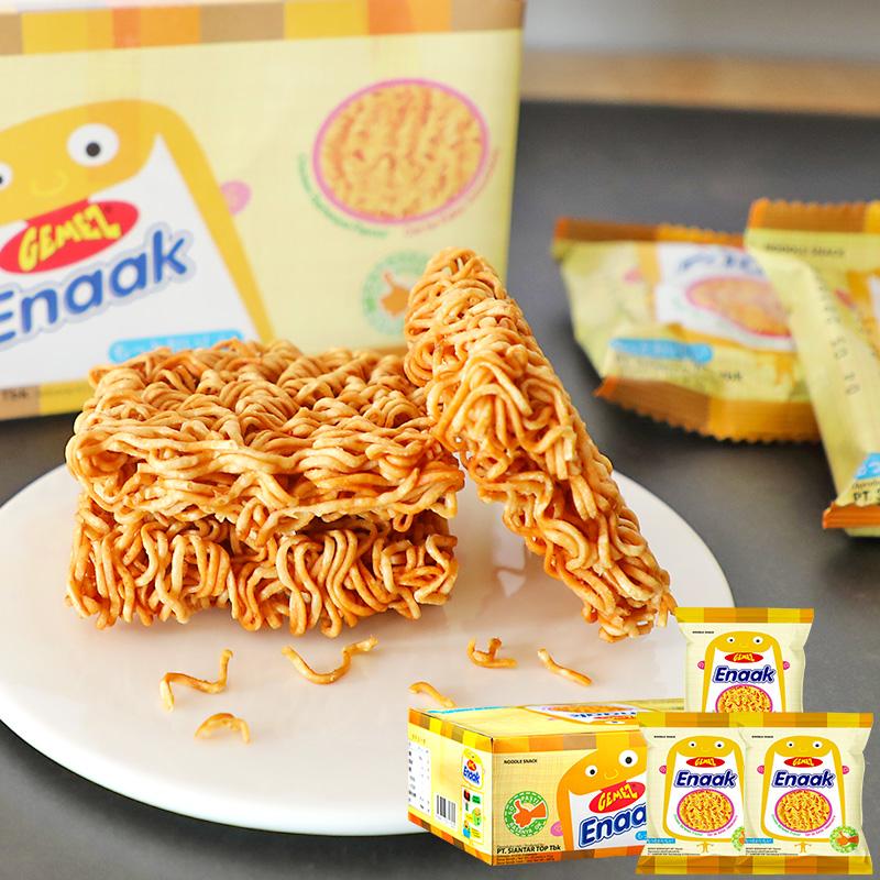 Gemez小鸡干脆面印尼进口点心面零食网红小吃休闲零食火鸡干吃面