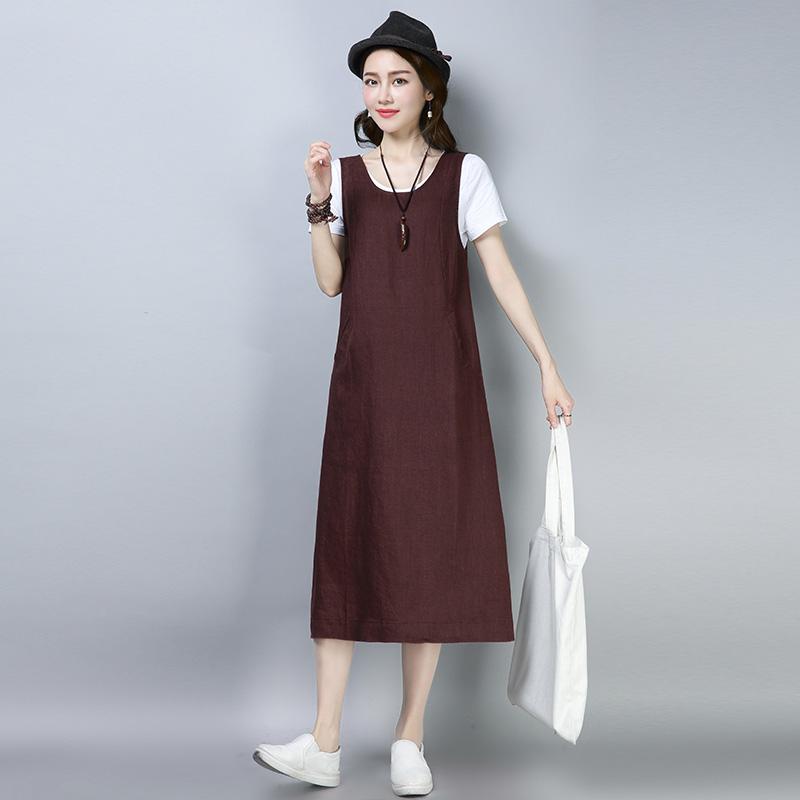 夏装布衣风格