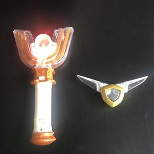 迪迦奧特曼DX變身器黑暗神光棒 大古的光明神光棒 火花稜鏡可改裝